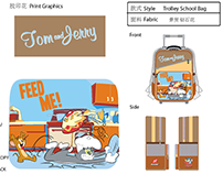 T&J Trolley School Bags