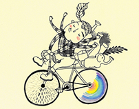 Urban woodchuck #1_Biking