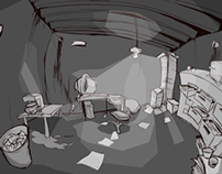 """Desk Space"""