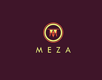 MEZA : Logo Design