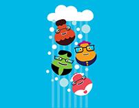 Ilustrações para capas de iphone para crianças