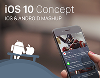 iOS & Android mashup - an iOS 10 Concept