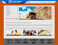 BC Bearing Web design
