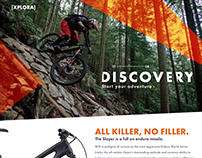 XPLORA WordPress Theme UI Design