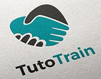 Logotype TutoTrain - Sofia Doudine création