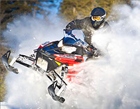 Snowmobile Concept Website