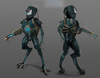 Alien Character Model