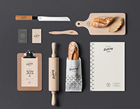 Bakery Branding Mock-up