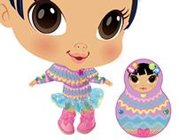 Crib Life dolls: Winter Fashion Design