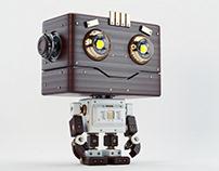 Retro robotoy