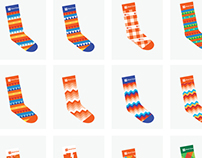 Holiday Branded Socks
