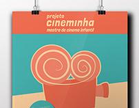 projeto gráfico   Projeto Cineminha   mostra de filmes