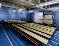 Nottingham Trent Lecture Theatre using Unreal Engine