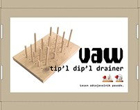 Dish drainer how-to use pictograms