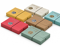 KUNGFU Handmade Pie Packaging Design /  功夫餡餅產品包裝設計