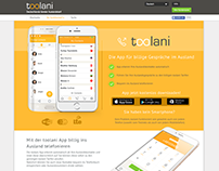 Webdesign: Toolani.com