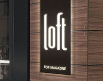 Loft for Magazine - Clothing Store