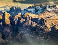 Dolomites. Spring
