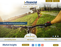 iFinancial Website Design