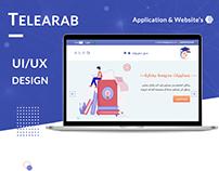 Tele Arab ( Website & Mobile App )