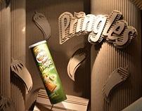 Jalapeño Pringles Cardboard Display