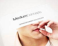 Medium Concepts Spring / Summer 2013 Preview Book