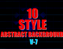 11 Style Box Abstract Background