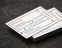 Sanuker | Business Card Design
