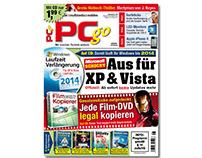 PCgo Cover Design