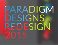 Paradigm Designs - Rebrand 2015
