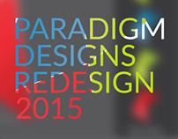 Paradigm Designs - Rebrand 2015