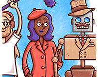 """Renton the Robot"" Page 18"