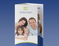 River Valley tri fold brochure design