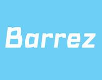 Barrez. 6 styles font family