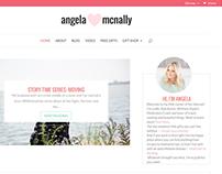 Angela Mcnally website & online shop