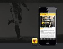 Football App Template