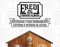 Eredi A5 flyer - wood restorers