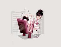 TAM Viagens • Illustration