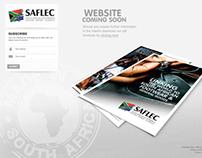 Design & Development of SAFLEC Temp Landing Page