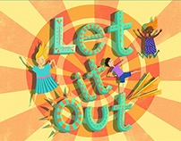Brad Guldemond - Let It Out! (Album Cover)