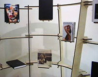 Exhibition Stand for the London College of Fashion