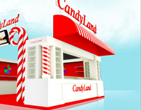 CandyLand - Exhibition Stall