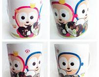 illustration mug
