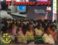 """IT Seminar 2006"" Video DVD Cover Design"
