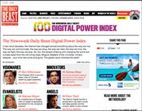 The Newsweek Daily Beast Digital Power Index