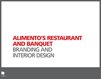 Alimento's - Branding, Interior, Environment Design