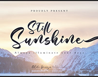Free Still Sunshine Script Font