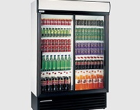 Staycold SD1360 Sliding Glass Door Display Fridge 1075
