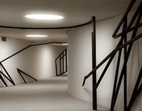 Verbindungstunnel Haus der Abgeordneten
