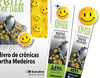 """L&PM Publishing - Martha Medeiros' """"Feliz Por Nada"""""""